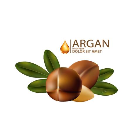 Suero de argán aceite cosmético de la piel Cuidado.