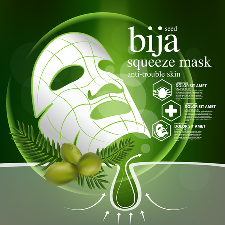 Bija Seed Nature Cosmetic Skin Care
