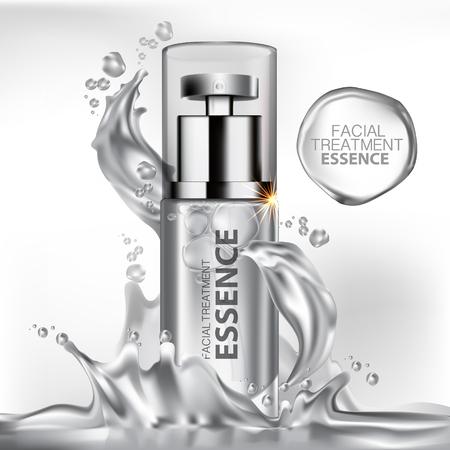 Trattamento viso Essenza Cura della pelle cosmetici.