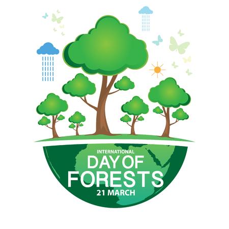 International Day of Forests Illustration