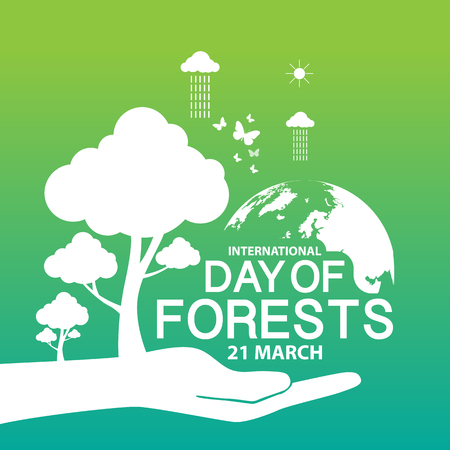 International Day of Forests Illustration