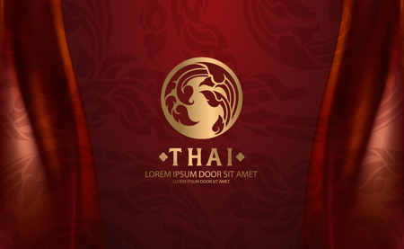 Thai Art vector Stock Illustratie