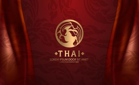 Vecteur d'art thaïlandais