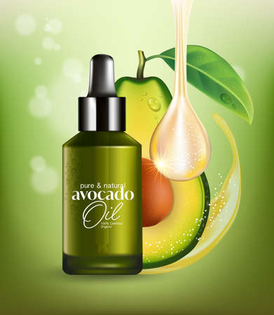 Avocado essential oil Natural Skin Care Cosmetic