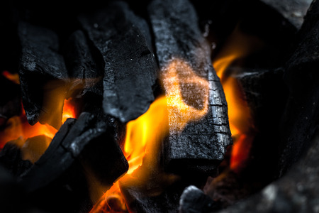 fireplace: Fire and charcoal grill background