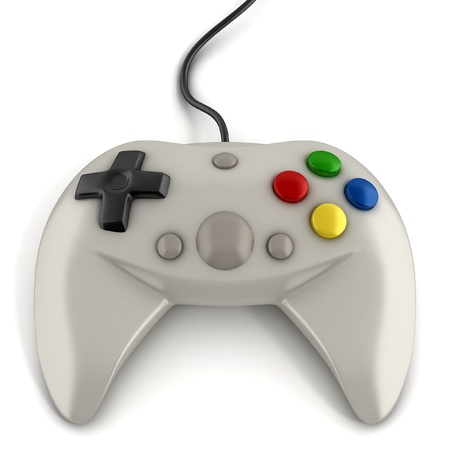 controller: gamepad 3d icon