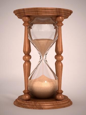 reloj de arena: reloj de arena, reloj de arena, arena temporizador, reloj de arena 3d ilustración