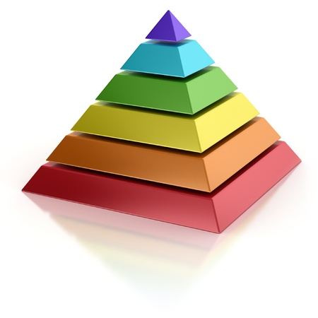 abstract pyramid  photo
