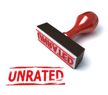 unrated stamp  Stock Photo - 12330780