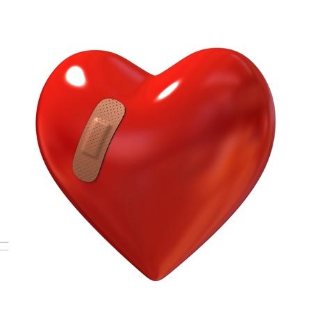 patching: broken heart