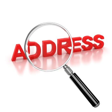 address search icon  photo