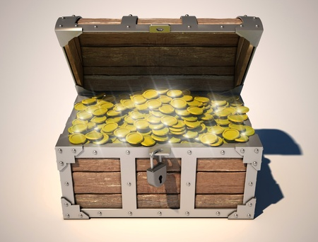 treasure chest  photo