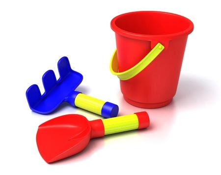 beach toys: beach toys  Stock Photo