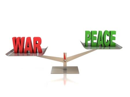 war or peace  photo