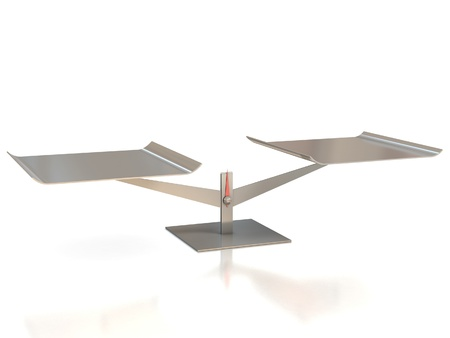 scale model: balance scale