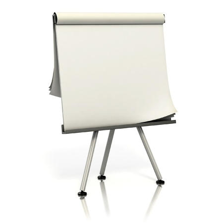 blank presentation board Stock Photo - 12331041