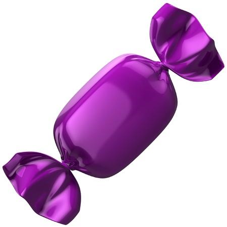 bonbon: candy on white background  Stock Photo