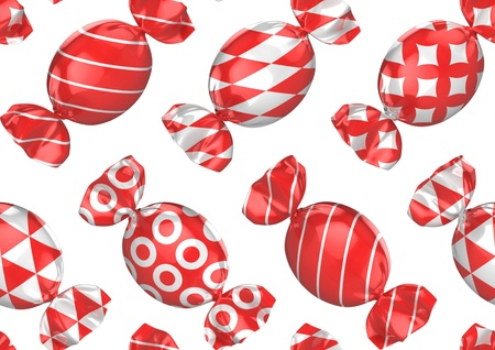 seamless candies background Stock Photo - 12331223