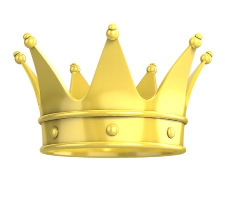 prinzessin: goldene Krone