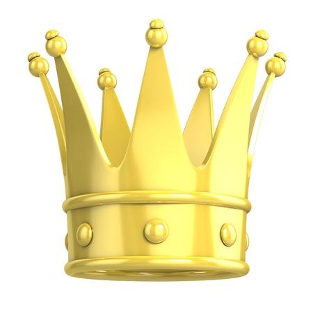 corona de princesa: corona de oro