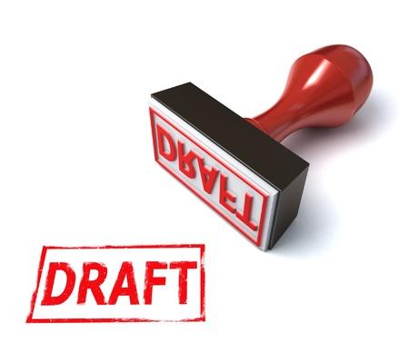 draft: 3d stamp draft