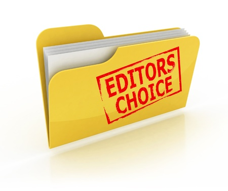 editor: editors choice folder icon over the white background