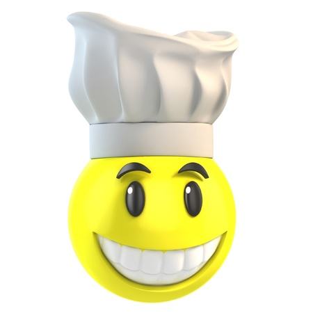 chef 3d: smiley chef