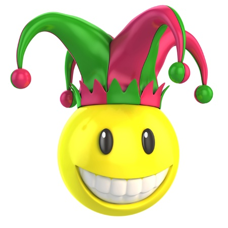 jester hat: jester smiley