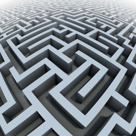 3d labyrinth photo