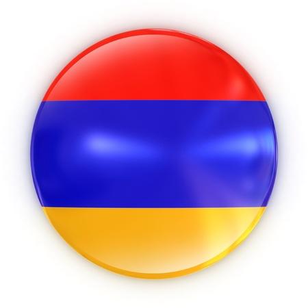 armenia: badge - Armenian flag