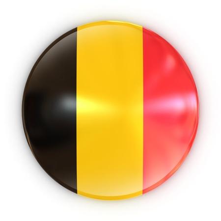 badge - Belgium flag  photo