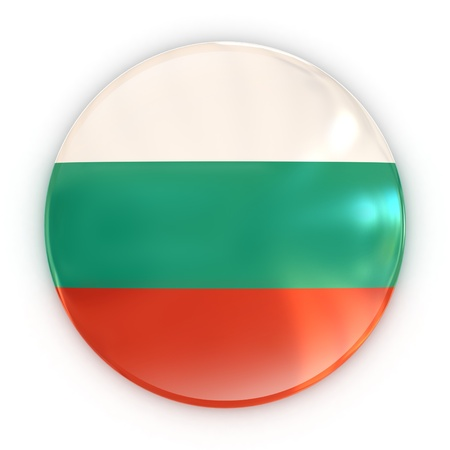 badge - Bulgarian flag  photo