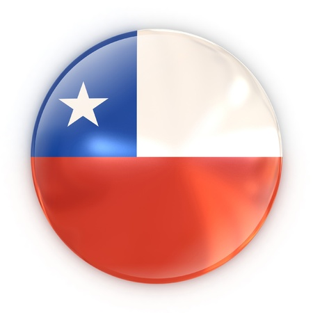 badge - flag of Chile  photo