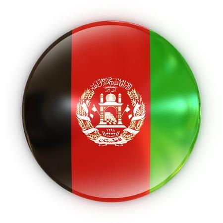 afghanistan: badge - Afghan flag