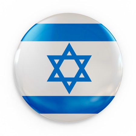 badge - Israel flag  Stock Photo - 12558059