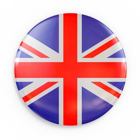 flag badge - Great Britain photo