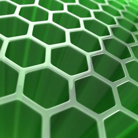 abstract hexagon background  photo