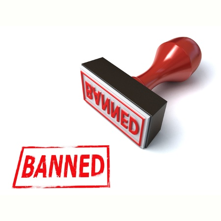 banned: 3d stamp banned