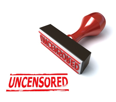 3d stamp uncensored Stock Photo - 12558114