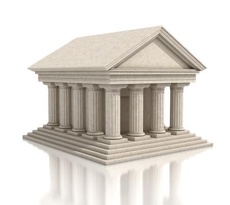templo griego: Stone Temple