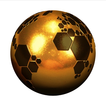 planet football  Stock Photo - 12557883