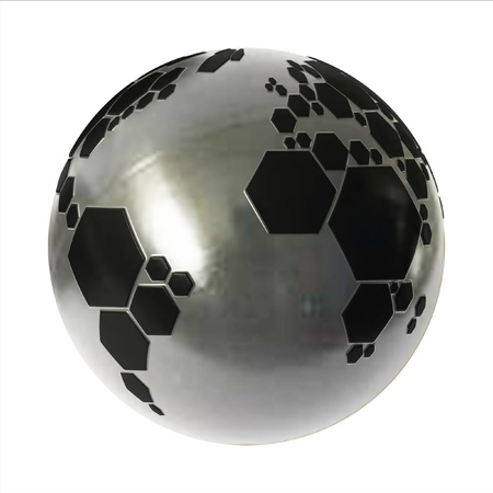 planet football  Stock Photo - 12557934