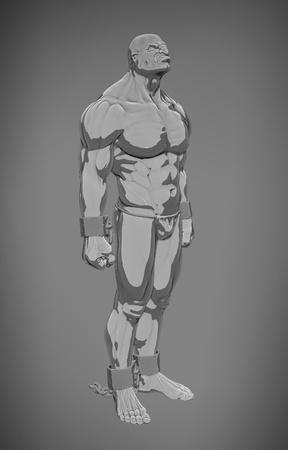deltoids: slave breaking the chains
