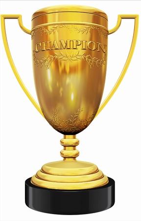 trophy winner: champion trophy
