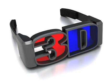 3d glasses  photo