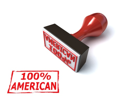 American stamp  Stock Photo - 12557719