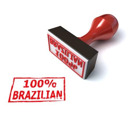 brazilian stamp Stock Photo - 12557721