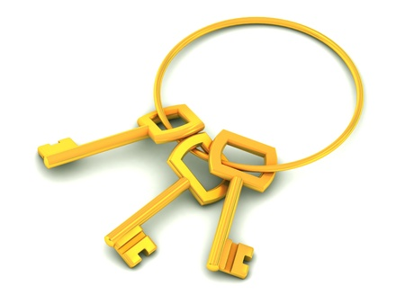 golden keys  photo