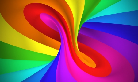 colorful abstract 3d background photo