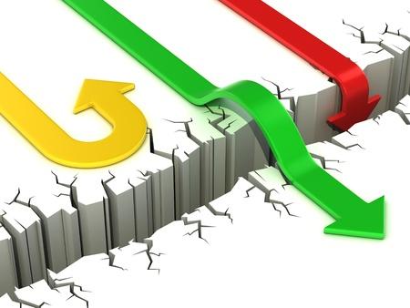 3d pijlen succes of falen begrip